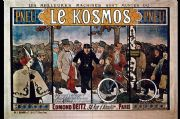 Vintage Bicycle Giclee Reproduction - PNEU LE COSMOS